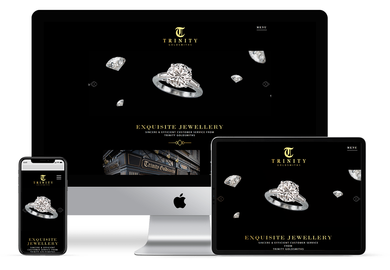 Web Design for Trinity Goldsmiths